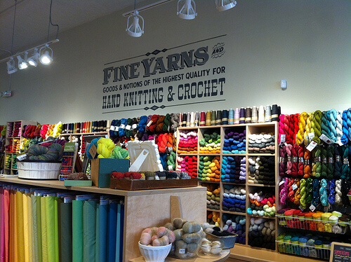 Beautiful shop interior at Fancy Tiger