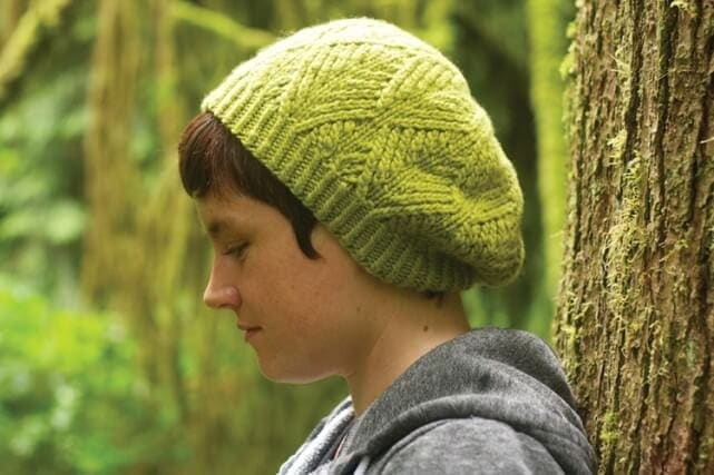 Sitka Spruce Knitted Hat