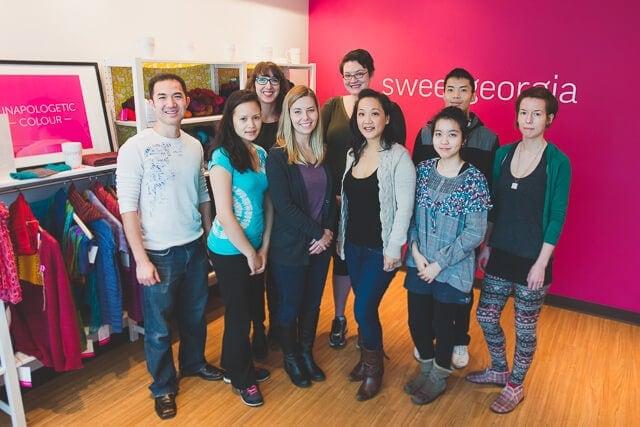 New SweetGeorgia team photo as of January 2015