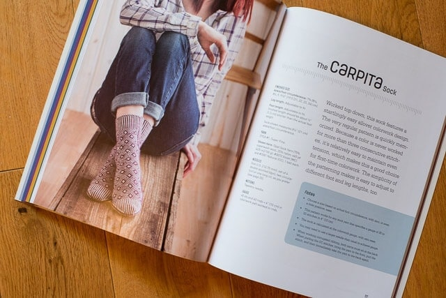 Carpita Socks by Kate Atherley