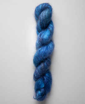 SweetGeorgia Silk Mist Hand-Dyed Silk and Mohair Yarn