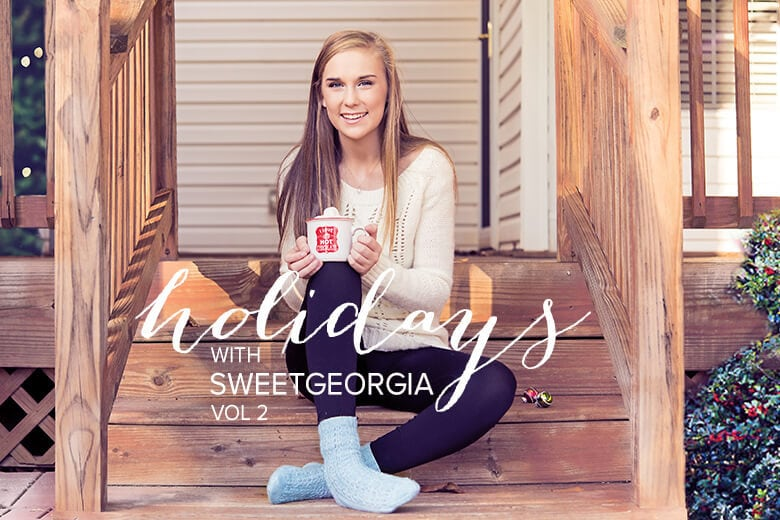 Holidays with SweetGeorgia, Vol. 2. Knitting accessory patterns.