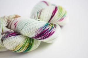 Rainbow Sprinkles yarn