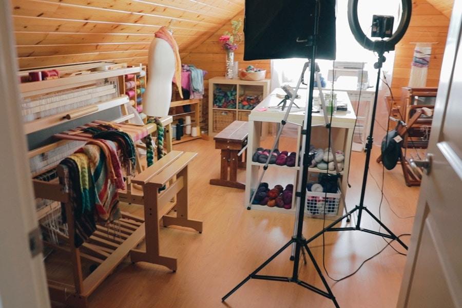 The Ultimate Dream A Craft Room Of One S Own Sweetgeorgia Yarns