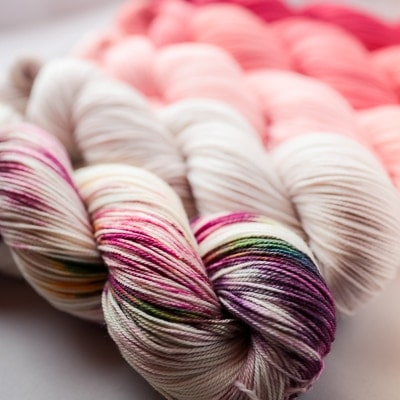 Hand-Dyed Yarn Colours