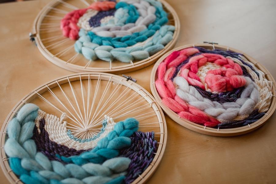 Handwoven Circular Frame Looms
