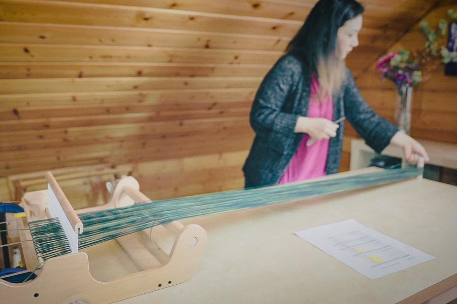 Direct Warping a Rigid Heddle Loom
