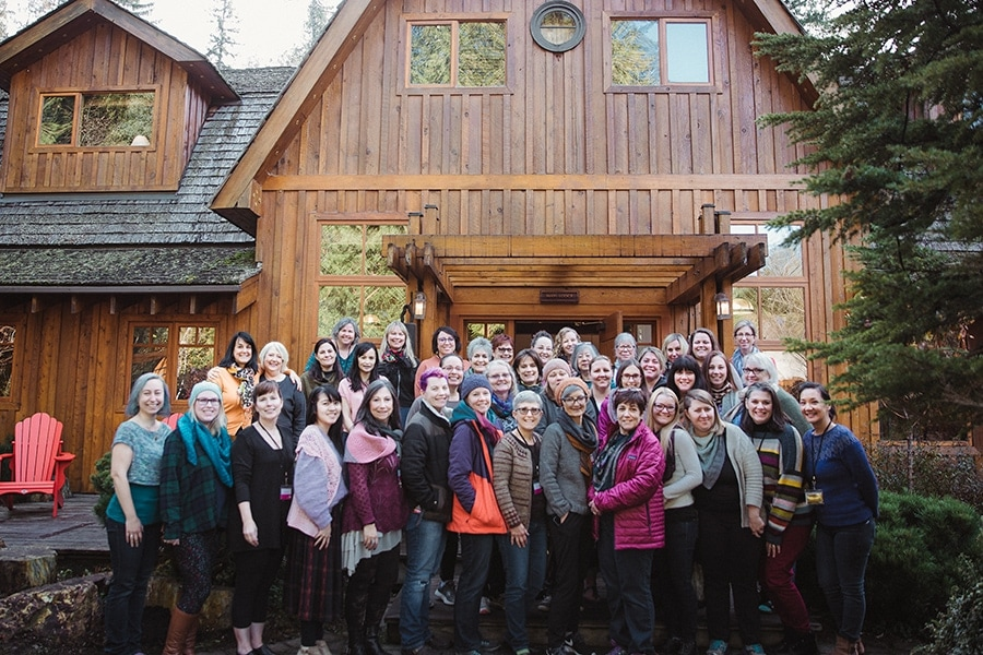 Escape with SweetGeorgia Retreat 2019 Participants