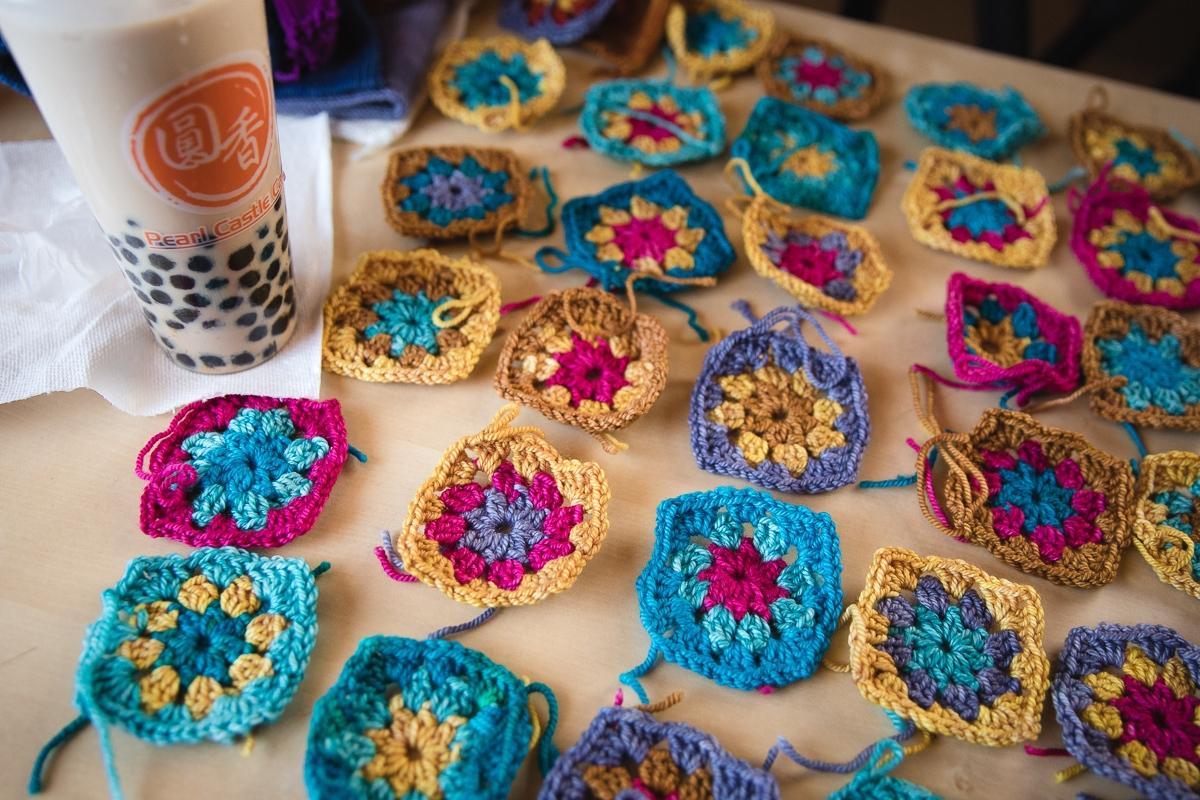 Crochet and Bubble Tea