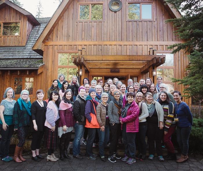 Escape with SweetGeorgia Fibre Arts Retreat 2019