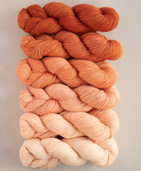 Sunkissed Fade Kit 6 gradient/ombre colours full skeins