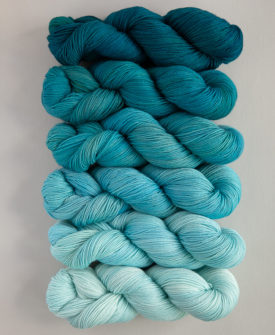 Swell Fade Kit 6 gradient/ombre colours full skeins