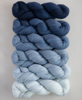Voyage Fade Kit 6 gradient/ombre colours full skeins