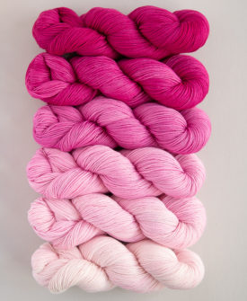 Hanami Fade Kit 6 gradient/ombre colours full skeins