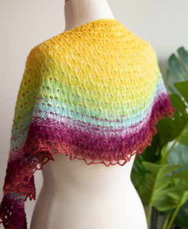 Cumberland knitted using Daydream sock blank