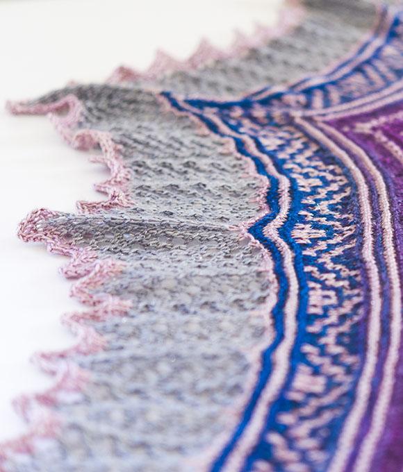 Laurel Mists mosaic details