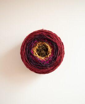 Tapestry Sock Yarn Blank wound