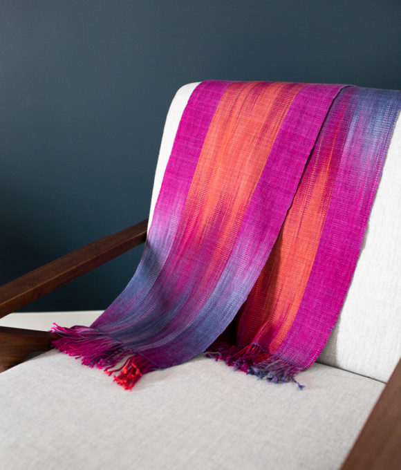Lighthouse Faux Ikat Scarf
