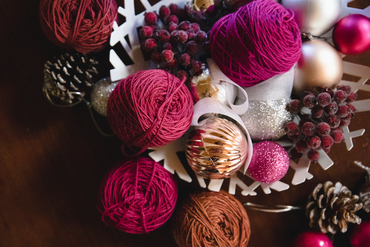 SweetGeorgia Yarns Creative Hibernation plans for the holidays