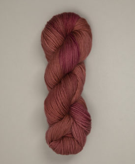 Red Sky - Superwash DK Spring and Summer 2021 hand dyed yarn colourway