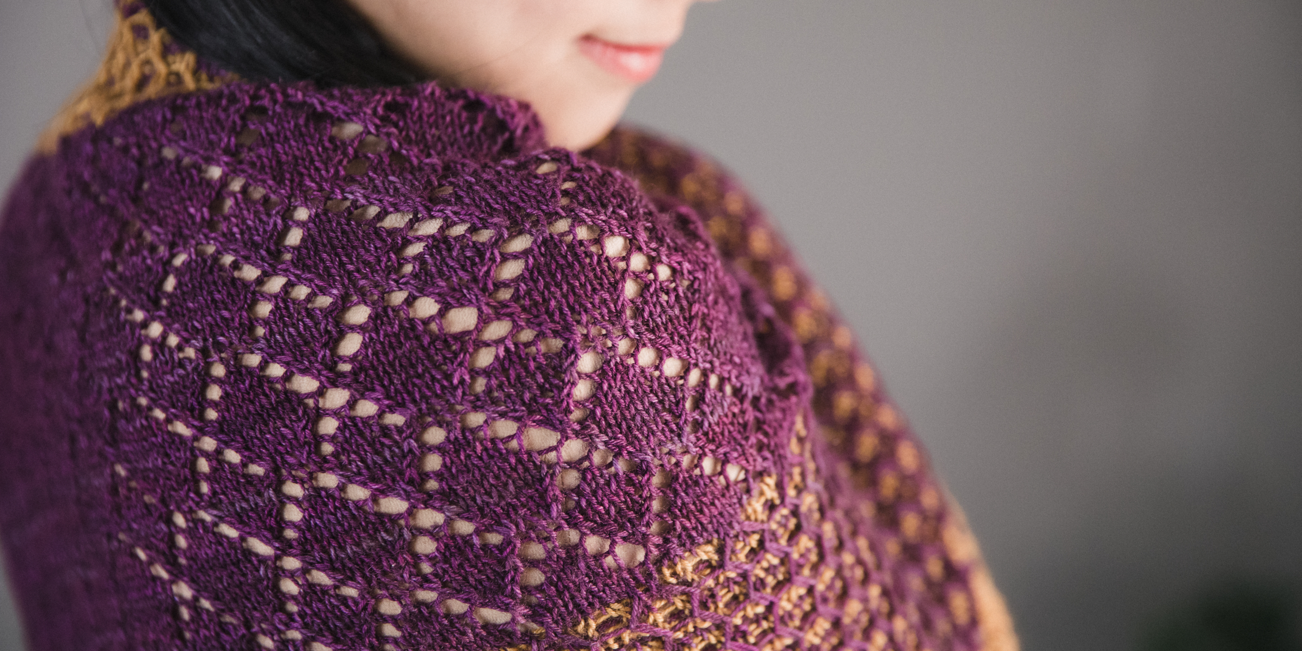Niabell - New shawl knitting pattern by Tabetha Hedrick