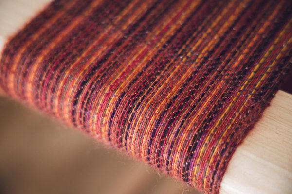 Weaving SweetGeorgia Advent 2020 kit Midnight Embers