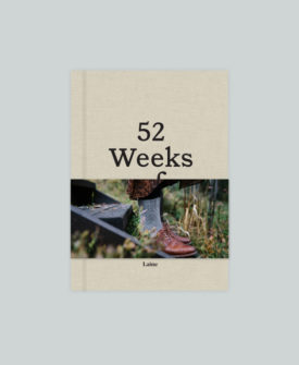 Laine Magazine 52 Weeks of Socks Knitting Pattern Book