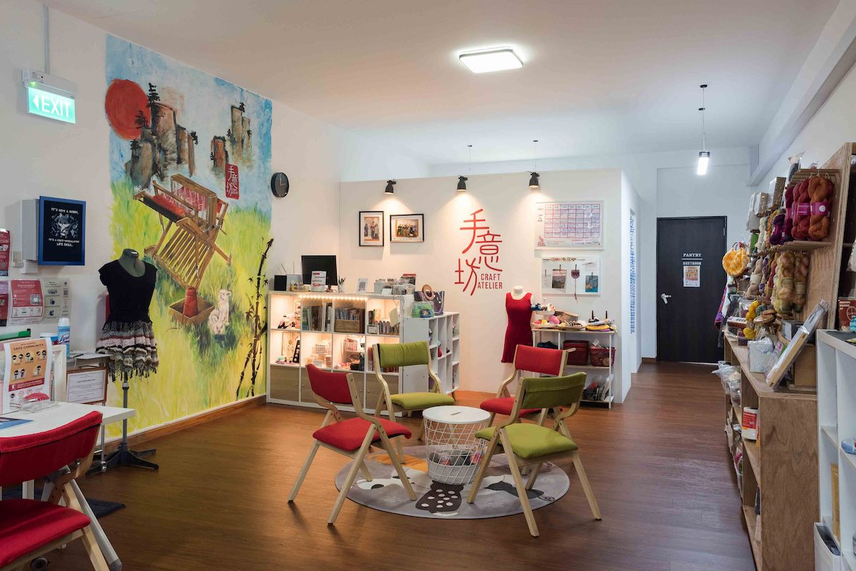 Craft Atelier studio space in Singapore