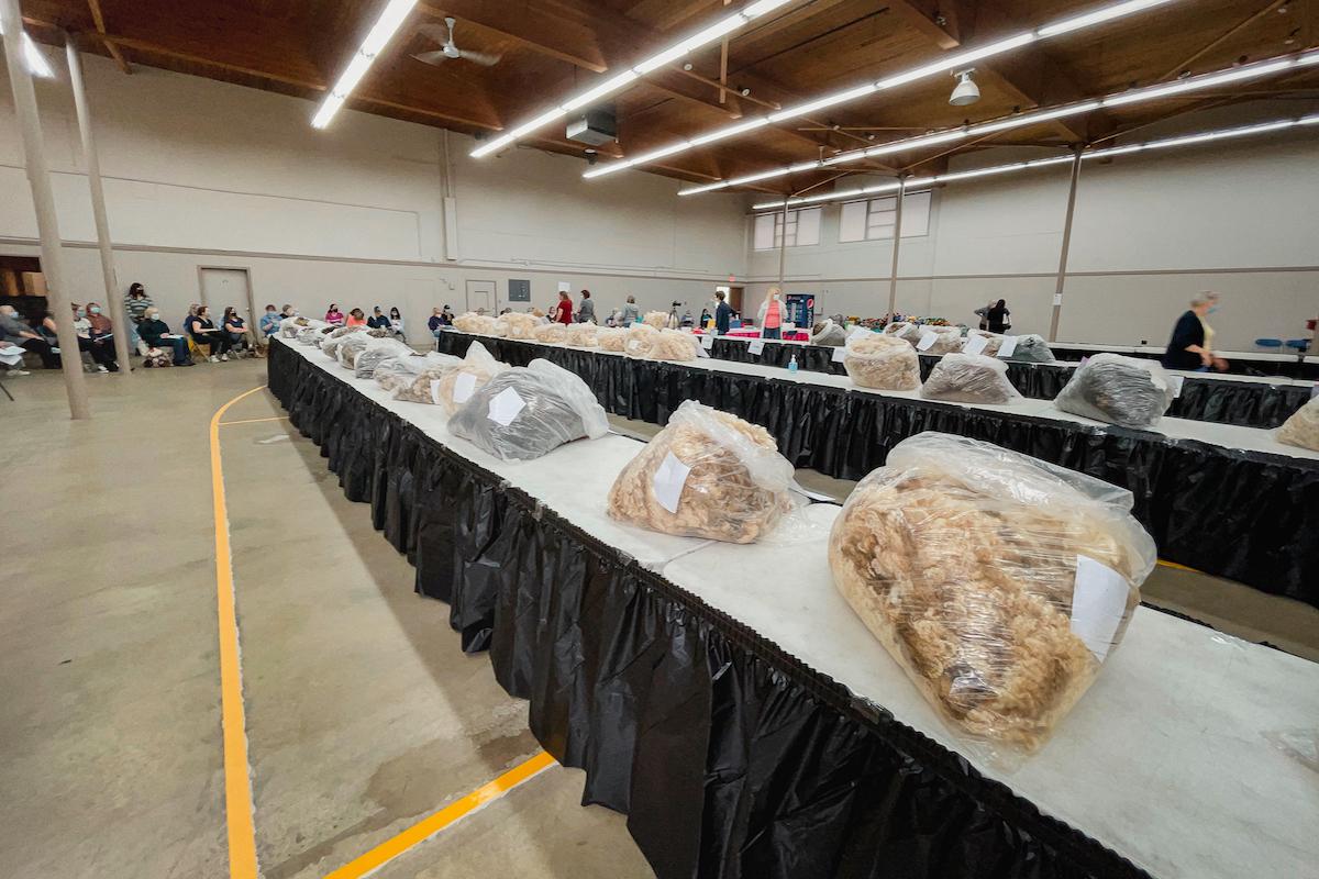 Lower Mainland Sheep Producers Association fleece auction